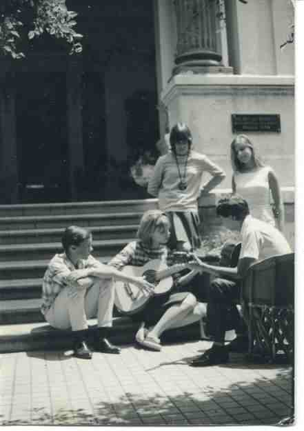 Summer Program, 1967?: Rick Woodbury, Christine Jackson, Barbara Woodbury,  ?, ?