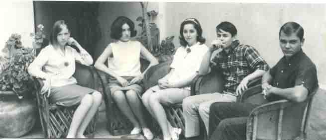 Honor Council, 1964-65: Mary Brooks, Liz Wagner, Cindy Underwood, Mike Adams