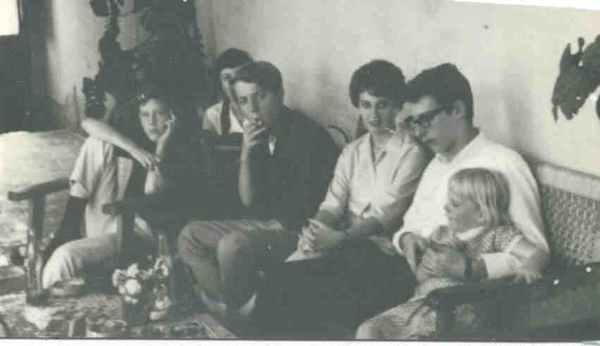 Summer School, 1964: Kurt Reeves, Maggie Butler, Richard Mall, Laura Gorham, Walter Bradford, Beatrice Butler