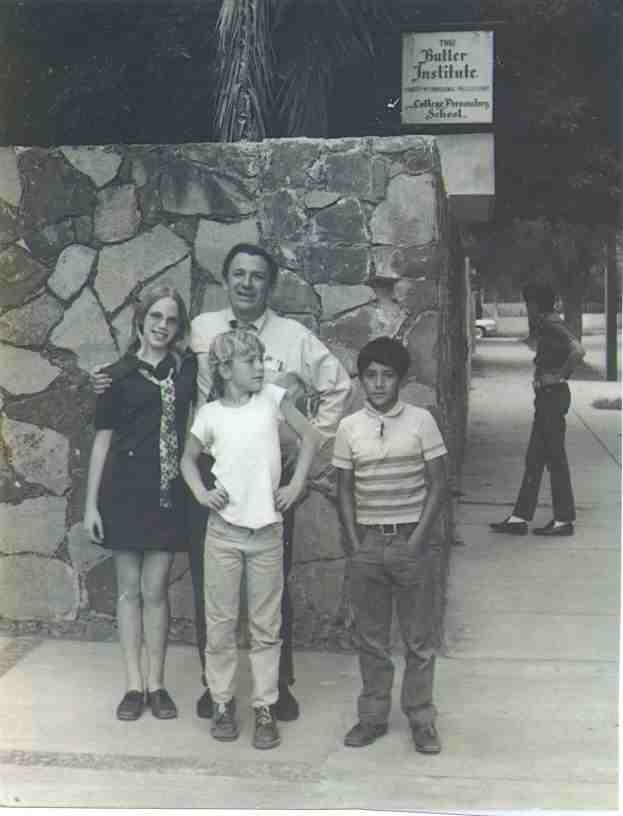 Frank, Beatrice, Ben, and Ramiro 1969?