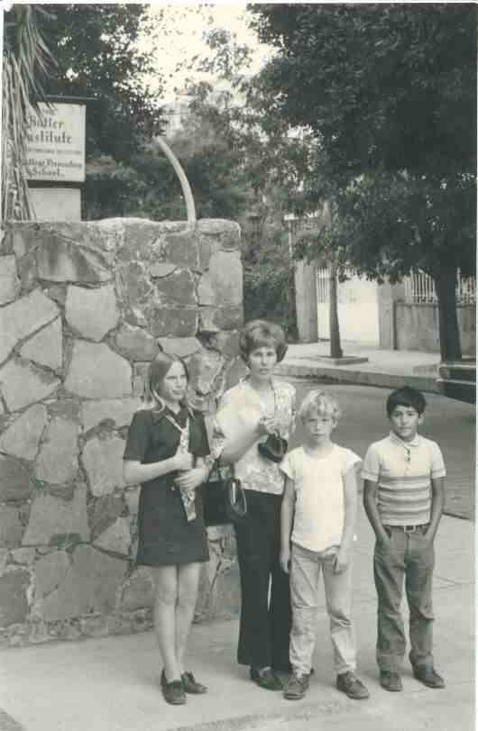 Maggie, Beatrice, Ben, and Ramiro 1969?